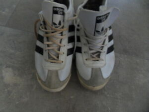 SNEAKERS BASKETS ADIDAS SAMBA GYM PRODUCTION VENTEX VINTAGE MADE IN FRANCE