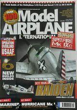 Model Airplane International June 2014 Kit Build Raiden FREE SHIPPING sb