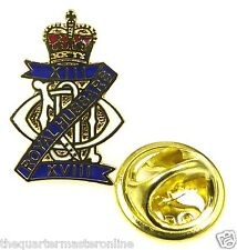 13th/18th Royal Hussars Lapel Pin Badge