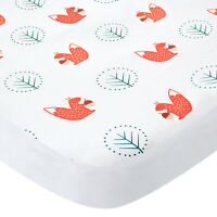 "Pack N Play Sheets Fitted Portable Playard Mini Crib Sheets Squirrel 39""x27"""