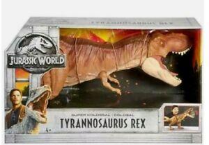 Jurassic World Super Colossal T-Rex Tyrannosaurus Rex Action Figure 101cm BNIB