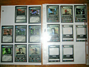 Star Trek  CCG Enhanced First Contact Complete set 16 Card