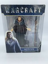 Warcraft Movie Action Figure MEDIVH 6-inch Wizard With Staff Jakks NEW World of