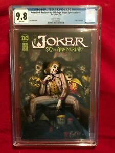 JOKER 80TH ANNIVERSARY SUPER SPECTACULAR Ryan Brown Variant 9.8 CGC
