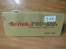 Britek Pro Flash 500n. Display Item. Excellent Condition. #2 FAST FREE SHIPPING.