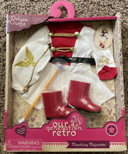 Our Generation Retro Marching Drum Major Majorette Doll Clothes Deluxe Outfit