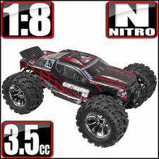 Redcat Racing Earthquake 3.5 1/8 Scale 4x4 Nitro Monster RC Truck Red Black NEW