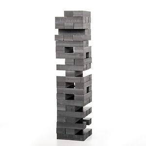 100% Carbon Fiber Tumbling Tower Building Stacking Blocks Game Luxury Charlie
