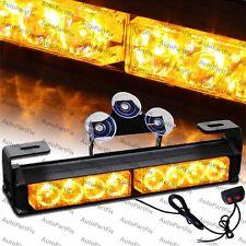 9.5 inch LED Amber Yellow Bar Emergency Truck Strobe Flash Light Warning Truck