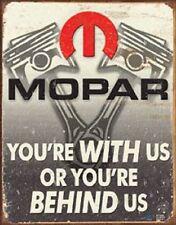 Mopar Dodge Ram Jeep Chrysler Metal TIN SIGN Garage Shop Wall Poster Decor Ad