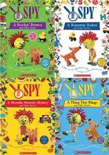 I SPY Lot of 4 New Sealed DVD Volumes 1 2 3 4