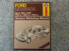FORD GRANADA 1985 ~ 1986 1.8 2.0 2.8 HAYNES SERVICE WORKSHOP REPAIR MANUAL