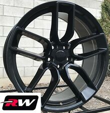 (4) 20 inch RW Wheels for Chrysler 300 Gloss Black Rims SRT Challenger Wide Body
