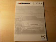 49704) Mazda 121 Farben & Polster Prospekt 02/2000