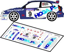 DECALS 1/43 TOYOTA COROLLA WRC - #9 - DYTKO - RALLYE BARBORKA 2000 - D43053