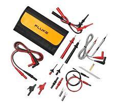 Fluke TLK287 Electronics Master Test Lead Set. Alligator Clips, Probes & More