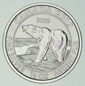 Better Date - 2019 Canada $2 - 1/2 Oz. Silver Polar Bear - SILVER