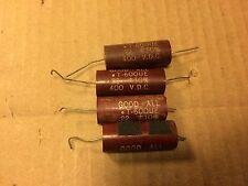 4 Vintage Good-All .22 uf 400v Capacitor 600UE Tone Caps TEST GOOD (qty avail)