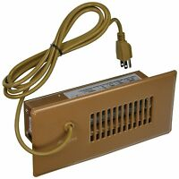 """Cyclone Auto or Manual Duct Booster Fan for 10"""" Register (45 CFM) - BROWN CBB"""