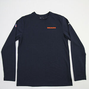 Chicago Bears Nike Dri-Fit Long Sleeve Shirt Men's Navy Used