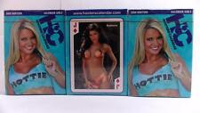 Playing Cards HOOTERS Calendar 2008- 1st Edition- Series 5 (3 DECKS) ALL Sealed