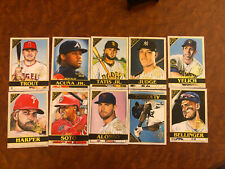 2020 Topps Gallery National Baseball Card Day Set #GP1-GP10 10 Cards