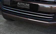 Chrome 2Pc Lower Bumper Grille Accent Trims To Fit Volkswagen Amarok (2010-16)