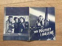 Raw Deal Dennis O'Keefe, Claire Trevor, Marsha Hunt 1948 Danish Movie Program