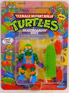 TEENAGE MUTANT NINJA TURTLES SKATEBOARDIN' MIKE 1991 MOC PLAYMATES TMNT