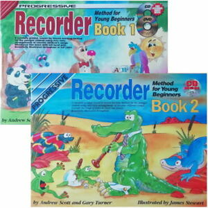 Progressive Recorder for young beginners' - Options Book 1 or 2
