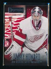 JIMMY HOWARD 2013-14 PANINI PLAYBOOK #28 198/249 DETROIT RED WINGS