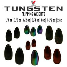 Tungsten Flipping Weights-Bullet Weights-Worm Weights