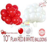 "10"" Latex PLAIN BALOON BALLONS helium BALLOONS Quality Party Birthday Wedding UK"