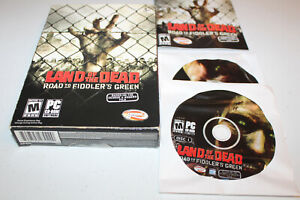 Land of the Dead Road to Fiddlers Green (PC 2005) Complete, George A. Romero