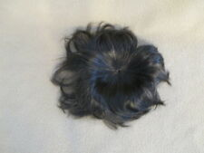 "NEW KEMPER MODACRYLIC 12""-13"" DARK BROWN DOLL WIG 4 REBORN BABY OOAK ARTS SUPPLY"
