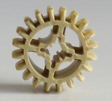 6084724 LEGO® technic Nr Zahnrad 20 Zähne beige 4 Stück