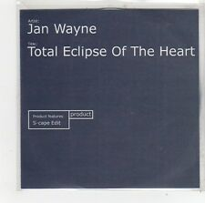 (FO142) Jan Wayne, Total Eclipse Of The Heart - 2002 DJ CD