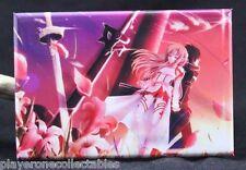 "Sword Art Online Kirito & Asuna 2"" X 3"" Fridge / Locker Magnet."