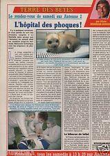 Coupure de presse Clipping 1990 l'Hôpital des Phoques   (1 page)