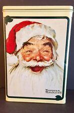 Kellogg'S Collectible Christmas Tin Norman Rockwell Santa Claus 1954 1998