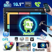 "10.1"" GPS Navi Android 9.1 Autoradio con Bluetooth WIFI Link Specchio USB 2DIN"