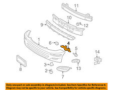 TOYOTA OEM 04-10 Sienna Front Bumper-Side Support Bracket Left 52116AE010