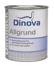 Dinova Allgrund 2,5 L weiß - für Eisen,Alt-Zink,Aluminium,PVC u. Spanplatten -