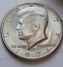 1971~D KENNEDY HALF DOLLAR ~ DOUBLED DIE OBVERSE (FS~101)High grade UNCIRCULATED