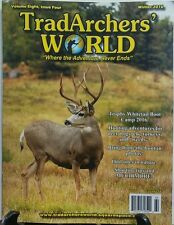 Trad Archers World Winter 2016 Hunting Adventures Deer Hogs Elk FREE SHIPPING sb