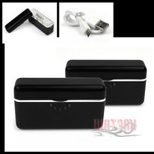 2X 2800MAH EXTERNAL BLACK BATTERY BACKUP CHARGER USB IPHONE 4S 4 3GS IPOD TOUCH