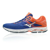 Mizuno Mens Wave Shadow 2 Running Shoes Trainers Sneakers Blue Orange Sports