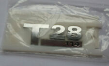 Volkswagen Transporter T5 + T6 - T28 114ps badge -  BRAND NEW - GENUINE VW PART