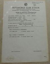 Ferrari 365 GTB4 Daytona Homologation Extension 1972 no brochure book buch press
