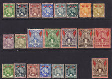 Zanzibar Scott # 38-52 VF OG previously hinged nice color cv $ 258 ! see pic !
